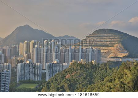 Sau Mau Ping  At Kwun Tong District