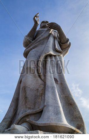 Statue Of Christ Overlooking Havana
