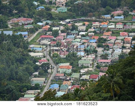Soufrière, St lucia Soufrière is a town in the west coast of St. Lucia founded by the French in the 18th century.