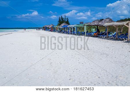 Playa Pilar - one of the finest beaches in Cuba.