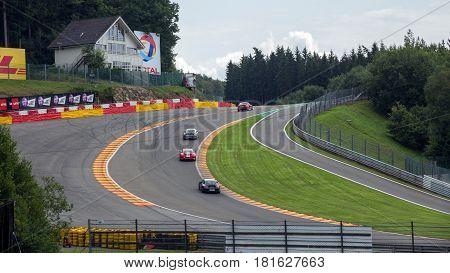 Spa Francorchamps Race Circuit Belgium
