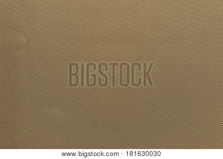 the textured background of fabric or textile material brown khaki color