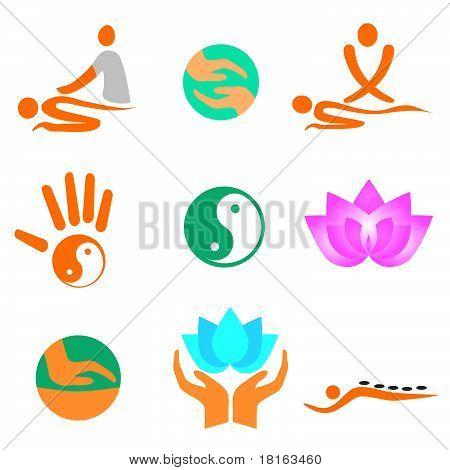 Icons of massage