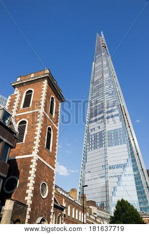 London Shard Skyscraper Landmark