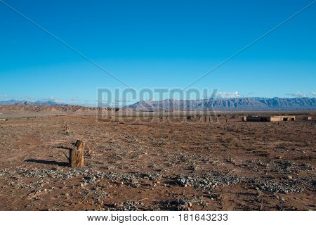 Abandoned Ghost City St Thomas In Lake Mead National Recreation Area, Nevada