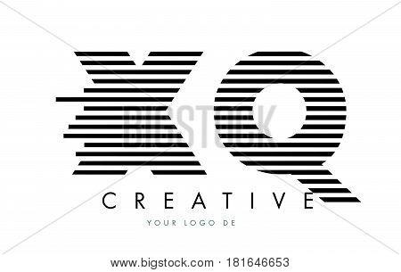 Rd R D Zebra Letter Logo Design With Black And White Stripes