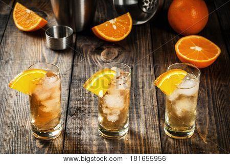 Alcoholic Vodka Orange Cocktail