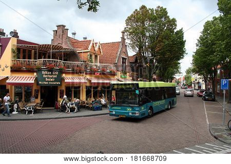 Streetview Of The City Of Enkhuizen,