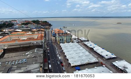 Aerial View of Belem do Para, Brazil
