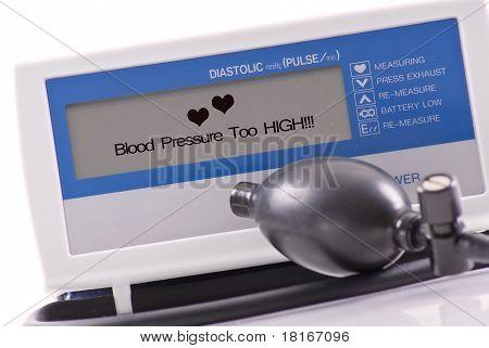Blood Pressure Too High