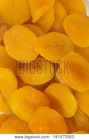 This is a photograph of Dried Apricots