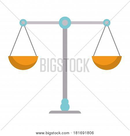 balance justice symbol icon vector illustration eps 10