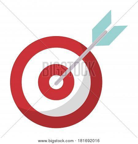 target blank objetive strategy vector illustration eps 10