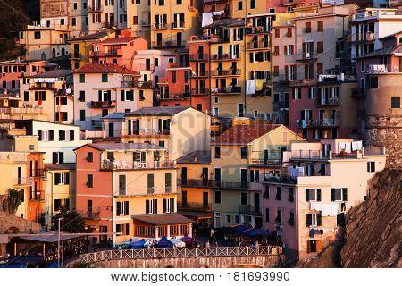 travel Italy series - Village of Manarola, on the Cinque Terre coast
