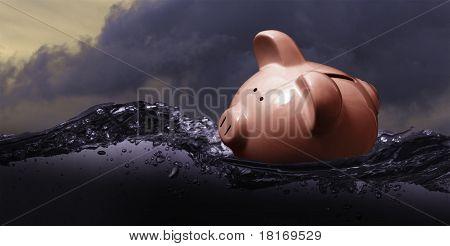 Perfect Storm Piggy