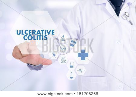 Ulcerative Colitis Healthcare Modern Medical Doctor Concept