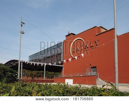 Eataly Restaurant In Turin