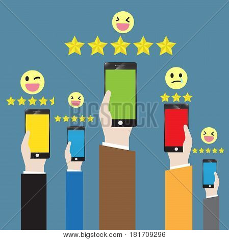 Business communication advertising and feedback marketing online
