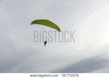 paraglider extreme sports in phuket thailand .