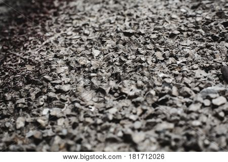 small pebble grey rock texture. Abstract background