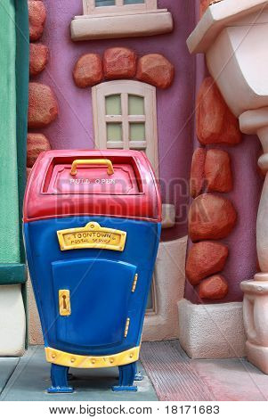 Toontown Postal Service In Disneyland