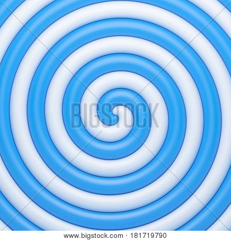 Abstract blue candy spiral background. Vector illustration Eps 10
