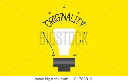 Original Novelty Fresh Genuine Ideas Icon