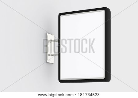 Blank Rectangle Signboard Mockup