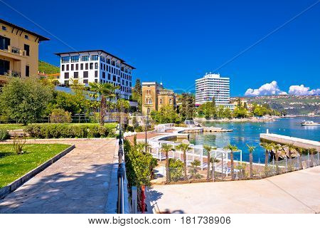 Luxury Waterfront Walkway In Opatija