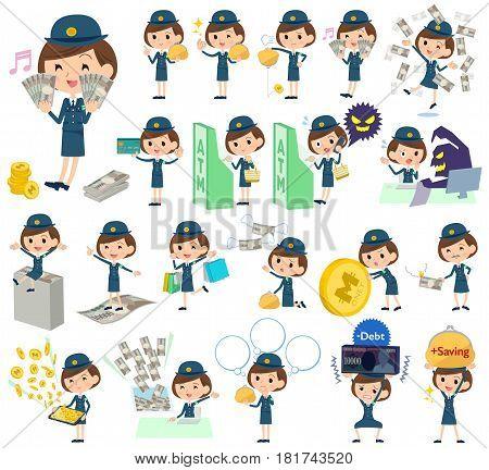 Police Woman Money