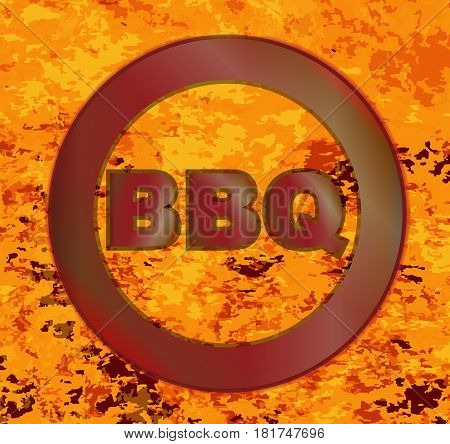 A BBQ brand in a blazing inferno