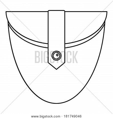 Small pocket icon. Outline illustration of small pocket vector icon for web