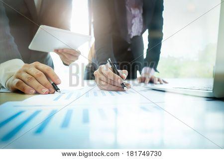 Business Meeting Teamwork Concept.