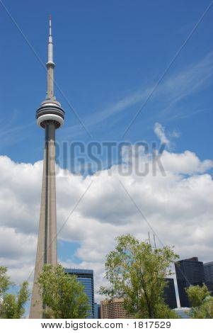Cn Tower In Toronto, Canada.