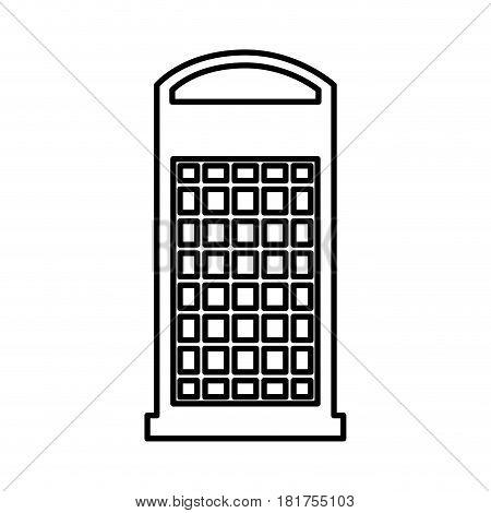 london phone cab isolated icon vector illustration design
