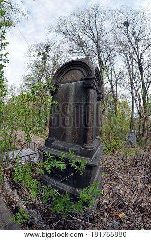 Historical Baikovoe cemetery. April 13, 2017 Kiev, Ukraine