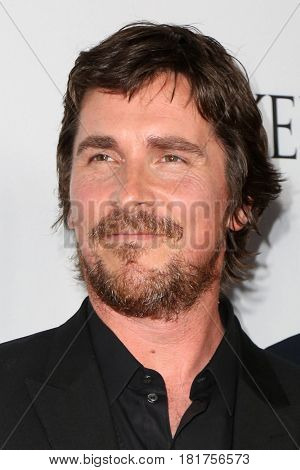 LOS ANGELES - APR 12:  Christian Bale at the