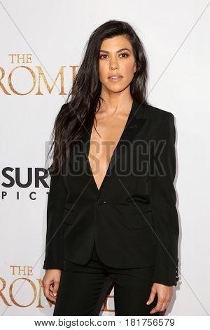 LOS ANGELES - APR 12:  Kourtney Kardashian at the