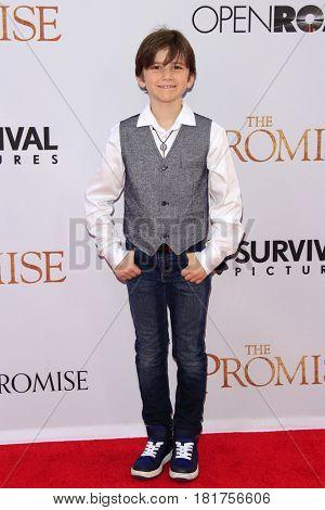 LOS ANGELES - APR 12:  Alexander James Rodriguez at the