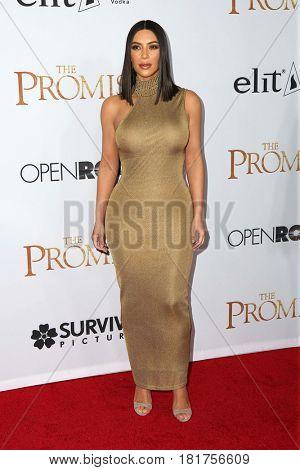 LOS ANGELES - APR 12:  Kim Kardashian at the