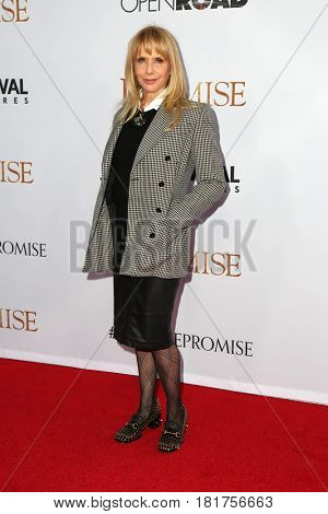 LOS ANGELES - APR 12:  Rosanna Arquette at the