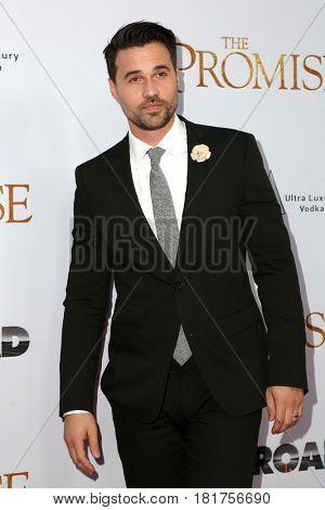 LOS ANGELES - APR 12:  Brett Dalton at the