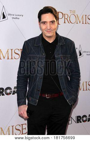 LOS ANGELES - APR 12:  David Dastmalchian at the