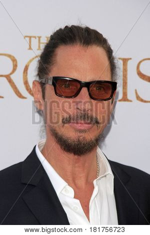LOS ANGELES - APR 12:  Chris Cornell at the
