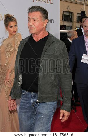 LOS ANGELES - APR 12:  Sylvester Stallone at the
