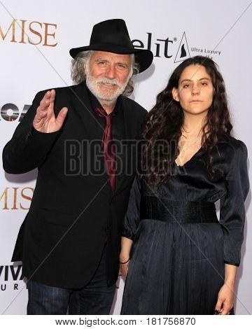 LOS ANGELES - APR 12:  Rade Serbedzija, Nina Serbedzija at the
