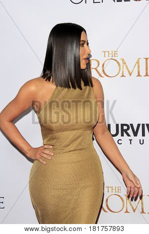 LOS ANGELES - APR 12:  Kim Kardashian at the