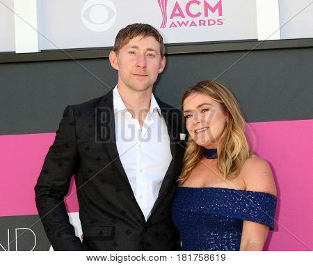 LAS VEGAS - APR 2:  Ashley Gorley, Guest at the Academy of Country Music Awards 2017 at T-Mobile Arena on April 2, 2017 in Las Vegas, NV