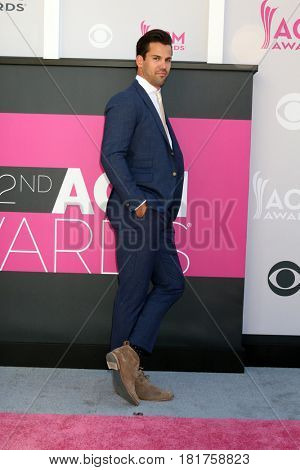 LAS VEGAS - APR 2:  Eric Decker at the Academy of Country Music Awards 2017 at T-Mobile Arena on April 2, 2017 in Las Vegas, NV
