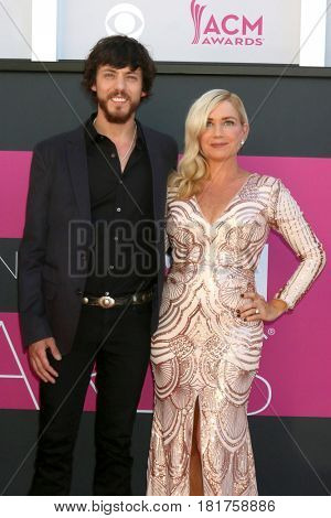 LAS VEGAS - APR 2:  Chris Janson at the Academy of Country Music Awards 2017 at T-Mobile Arena on April 2, 2017 in Las Vegas, NV